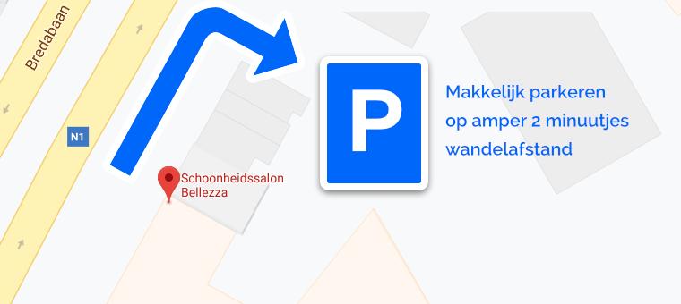parkeren Schoonheidssalon Bellezza Skin Care